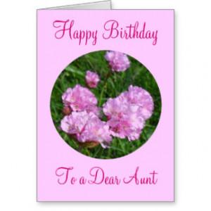 Happy Birthday Wishes Aunt