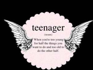 Teenager Meaning | xxCloudzxx | via Tumblr