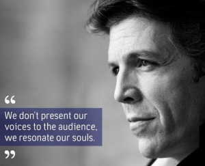 Love this quote from Thomas Hampson!