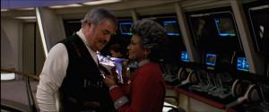Star Trek Scotty Quotes Uhura and scotty start