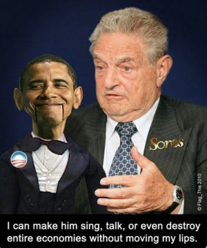 The puppet master himself.. George Soros!