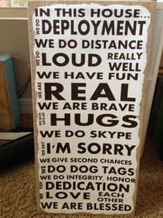 Military deployment family quote vinyl by VinylbyBetsie on Etsy, $24 ...