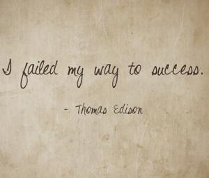 Don't fear failure!
