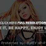 avril lavigne, quotes, sayings, face tomorrow avril lavigne, quotes ...