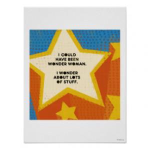Wonder Woman Poster Print