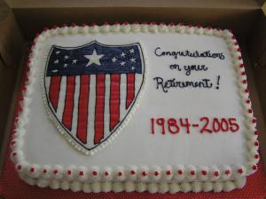 Pin Military Retirement Quotes For Men 8 Cake On Pinterest Kootation ...