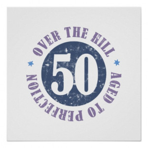 Birthday Over The Hill Print
