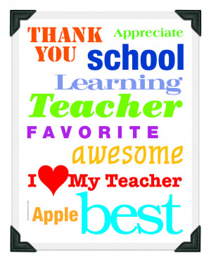 To celebrate Teacher Appreciation Week, we bring you this adorable ...