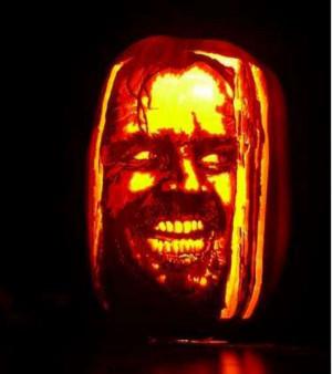 Jack Nicholson Pumpkin Carvings