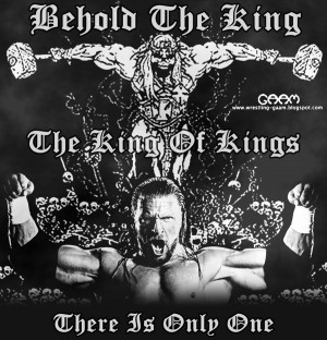 triple h kings wallpaper Image