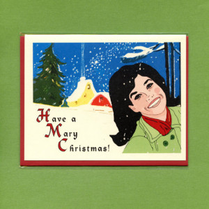 MARY TYLER Moore Christmas - Have a Mary Christmas - Funny Christmas ...