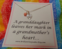 Grandma Quote Gift Keepsake From Gr anddaughter ...
