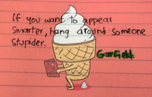 funny, garfield, lol, quote