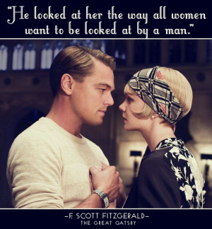 Scott Fitzgerald, The Great Gatsby: Lovequot, Movies Quotes, The Great ...