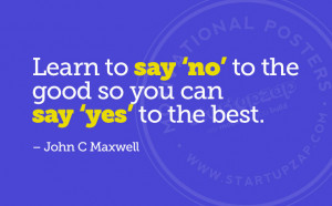 you can say yes to the best john c maxwell
