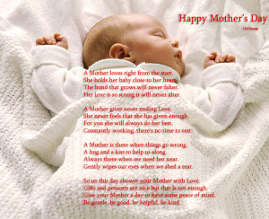 Happy Mothers Day 09 May 2011