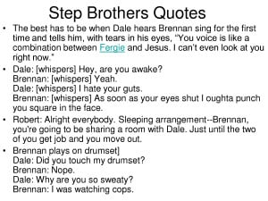Step Brothers Quotes by samuelc