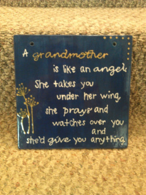 Mothers Day!! Grandmother Wall Hanging Quote by TheSedulousSisters, $ ...