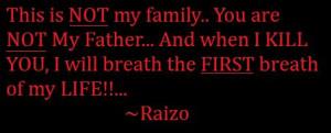 NINJA ASSASSIN: Raizo Quote 3 by Princess-Kraehe