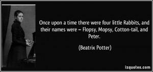 More Beatrix Potter Quotes
