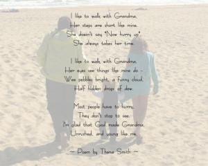 Nana Poems For Birthday Personalized grandma poem
