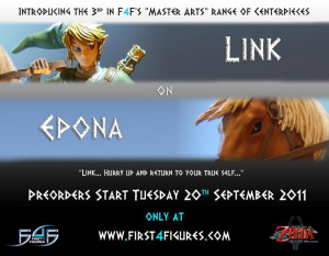Thread: First 4 Figures: Link on Epona Statue