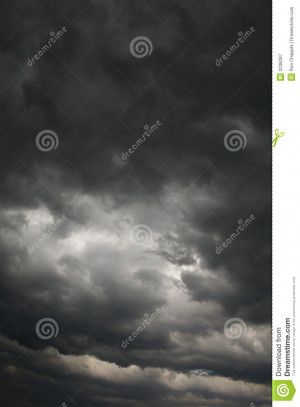 Abstract Clouds Storm Eve
