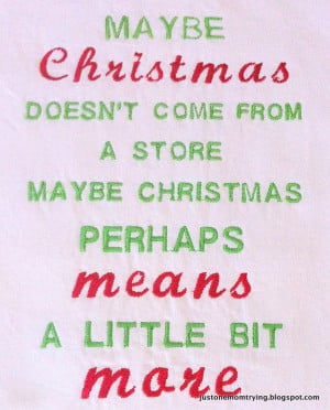 Christmas Quotes The True Meaning Food For