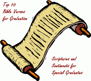 Top 10 Bible Verses for Graduation Cards and Letters