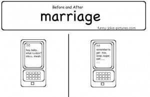 Funny Marriage Before After Picture Joke Image