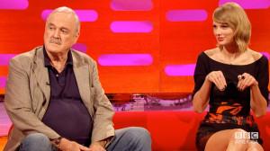 JOHN CLEESE Insults TAYLOR SWIFT's Cat Olivia Benson – The Graham ...