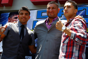 Victor Ortiz faces Josesito Lopez on June 23, with Chris Arreola also ...