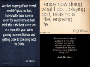30 Best Golf Quotes that Inspire you to Hit the Green
