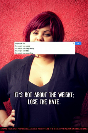 ... AUTOCOMPLETE WILL TELL YOU ABOUT FAT HATE AND WHY IT NEEDS TO STOP
