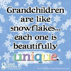 Both of my Grandsons are unique and beautiful and wonderful and super ...