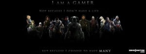 am a gamer facebook cover by kristan m in games added 1770 times