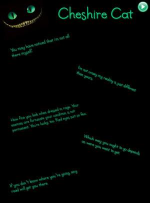 Alice In Wonderland Sad Quotes Cat quotes