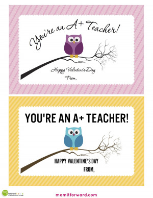 ... valentine card for teachers created by be my valentine this design