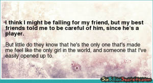 Love - I think I might be falling for my friend, but my best friends ...