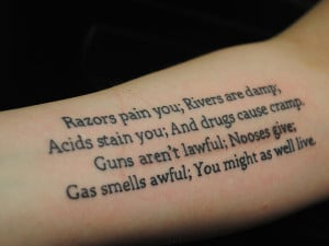 27 Unique Tattoo Quotes Which Are Adorable - 3