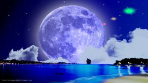Romantic Moon Mega moon this wallpaper i