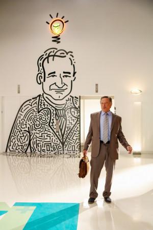 Robin Williams as an ad agency executive