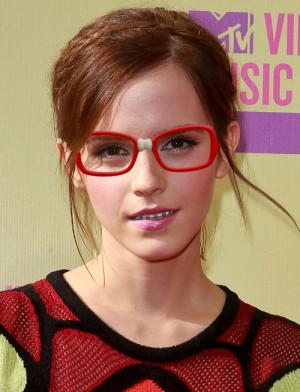 Emma Watson Rocks Braces and Glasses!
