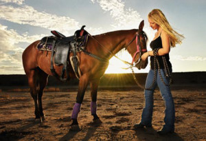 Blair Bunting Photographs a Girl and Her Horse