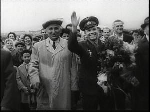 Yuri Gagarin back on Earth tours the world 1961 - courtesy ...