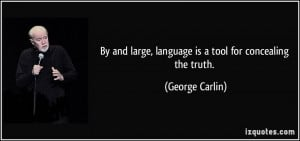 More George Carlin Quotes