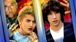 If Bill and Ted travel through time again…..??