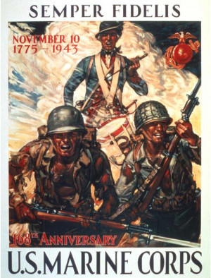 And an earlier recruiting poster which offers