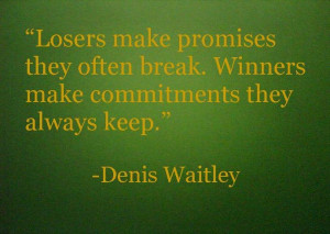 Winners and losers....