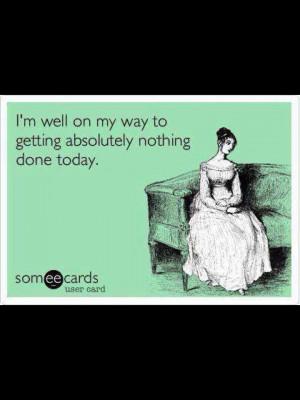Lazy day!